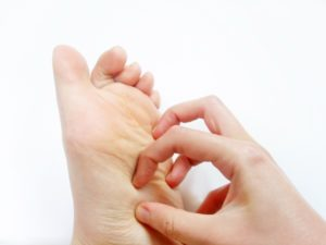 足の裏のかゆみ