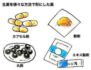 漢方 剤形
