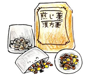 漢方イラスト